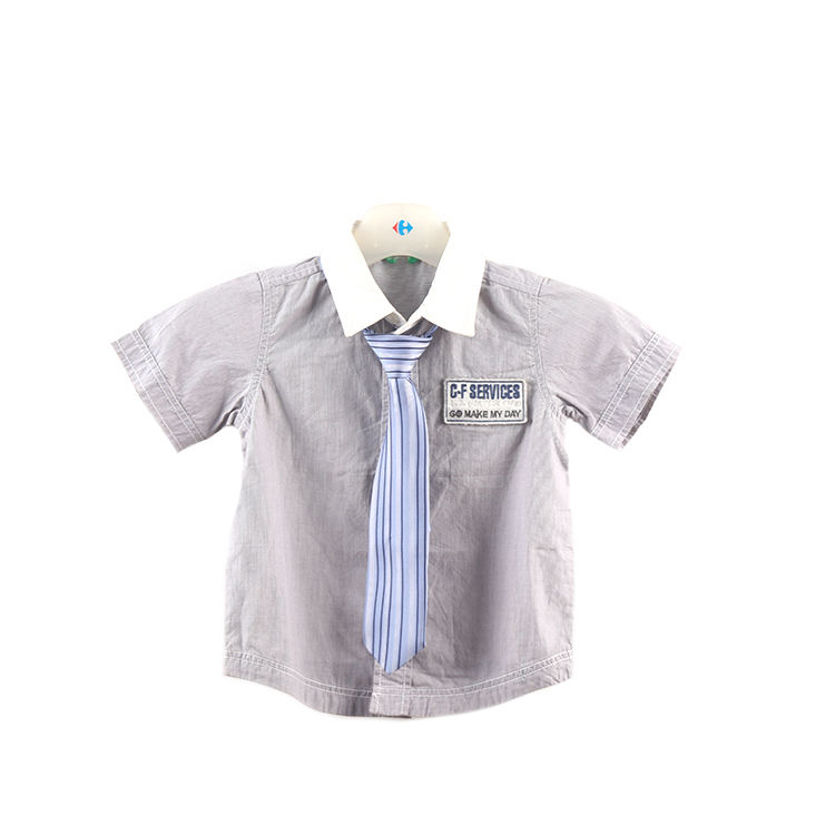 Factory supply attractive price boys casuals shirts for kids fashion designer