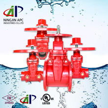 Chinese suppliers For export fire protection using 200 PSI OS&Y flanged cast iron gate valve with prices