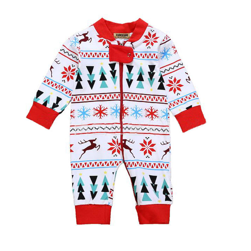 New Born Baby Rompers for Christmas Decoration Infant Clothing Festival Xmas Ornaments