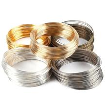 Factory Wholesale Gold Silver Color Memory Alloy Wire For Bracelet DIY Accessories