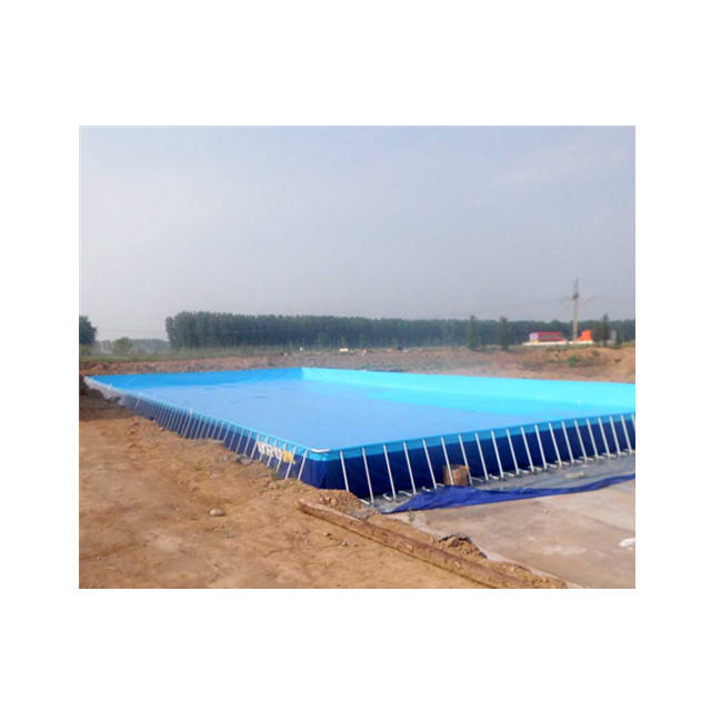 Outdoor Large Steel Frames PVC Swimming Pool