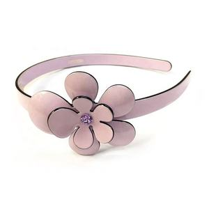 Fashion Custom Cellulose Acetate Floral Headband Exquisite Handmade Flower Hairband for Wedding Decoration