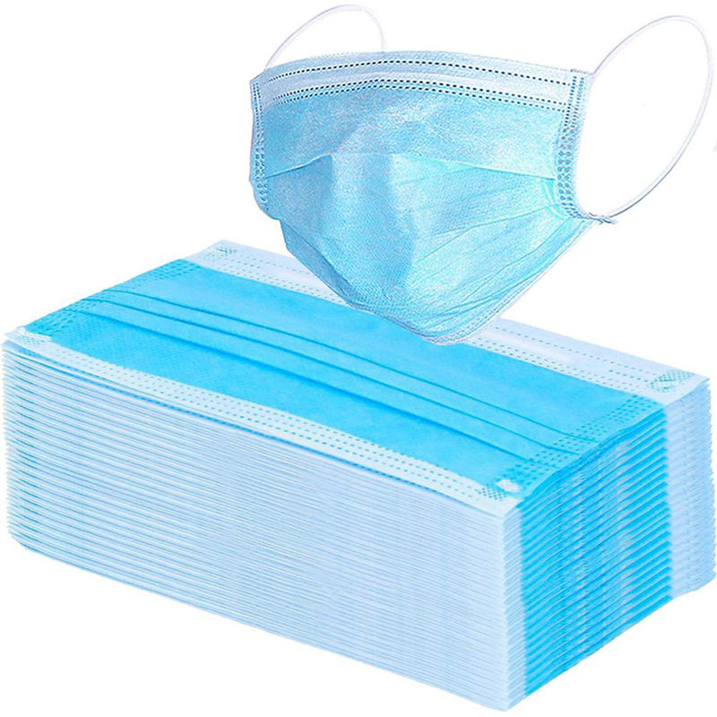 Best Manufacturer Wholesale 3ply Protective Face Mask / 3 Ply Disposable Face Mask