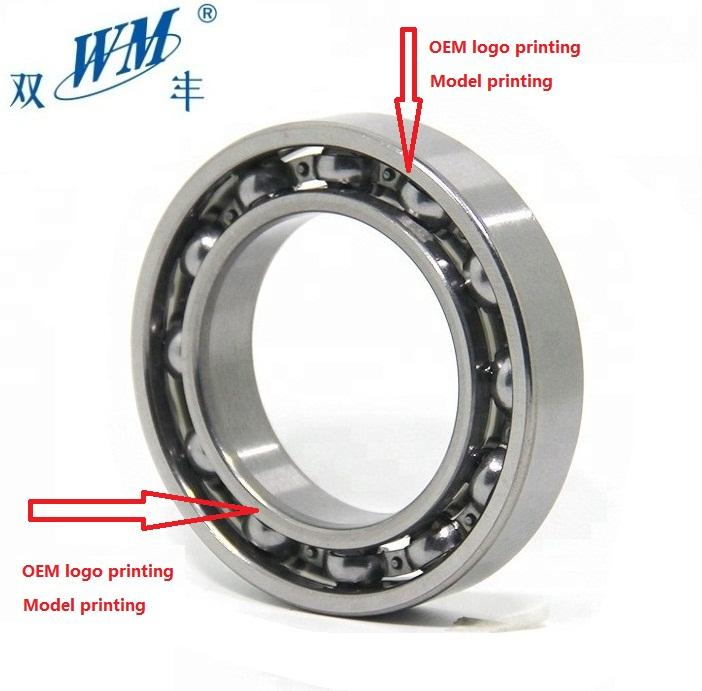 MLZ WM BRAND OEM bearing factory 6006rs 6006 2rs 6006z 30*55*13mm bearings in tractors oem precision thin section ball bearing
