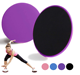 Amazon Hot Sell Custom High Quality Colorful Resistance Fitness AB Gliding Discs Exercises Core Sliders workout fitness yoga mat