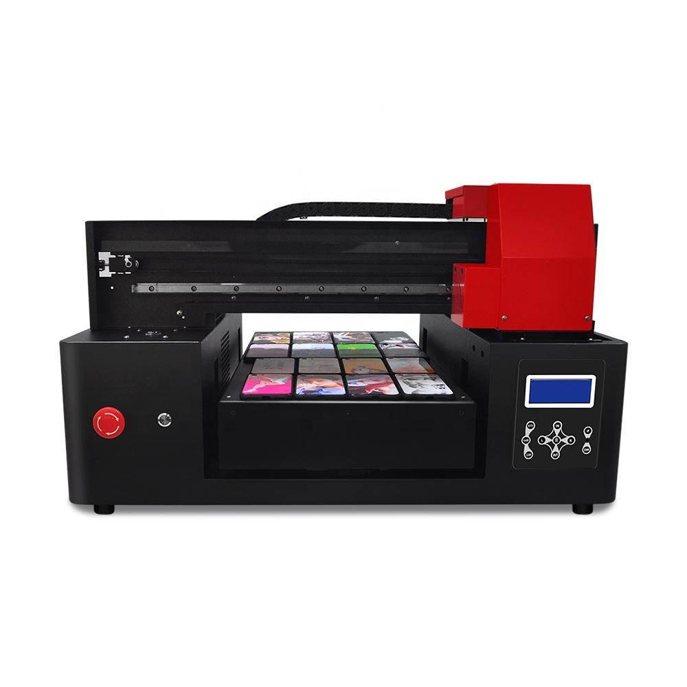 New Arrival Upgrade A3 Flatbed 3060 UV Plus Printer High Precision Phone Case UV Printer UV inkjet Printer