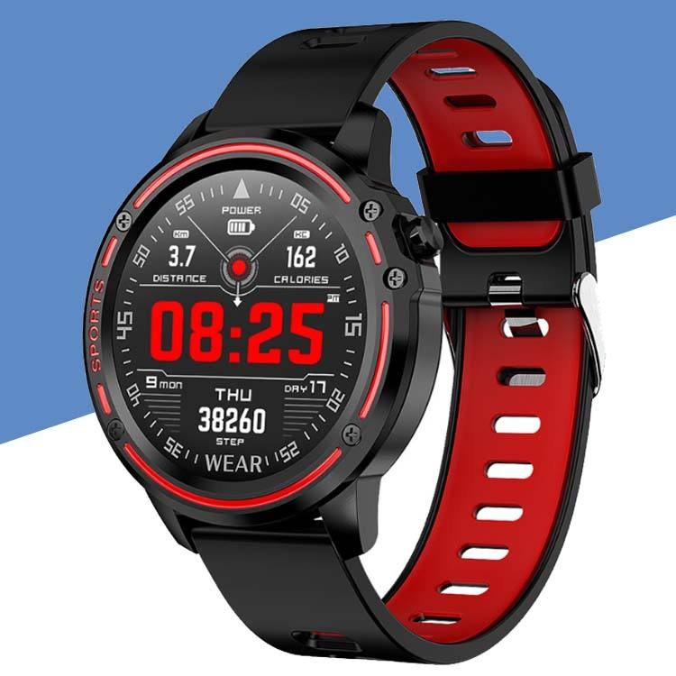 IP68 Waterproofスポーツフィットネス腕時計L8 Smart Watch Men SmartWatch With ECG PPG Blood Pressure Heart Rate