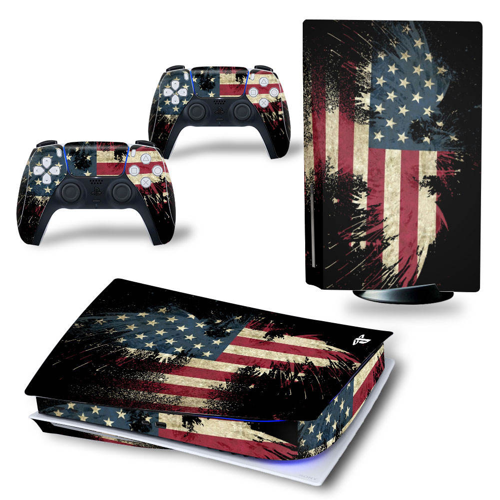 P5 Custom Game <span class=keywords><strong>Vinyl</strong></span> Decal Skin Stickers Cover Voor Sony PS5 Spelen Staion 5 Ps 5 Plastation Console Controllers Gamepad