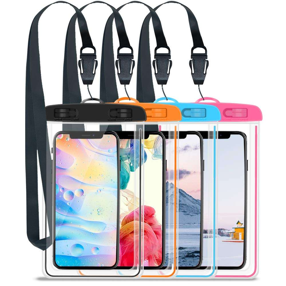 Customized Brand New Clear Waterproof For Mobile Phone Case Hot selling PVC Bag