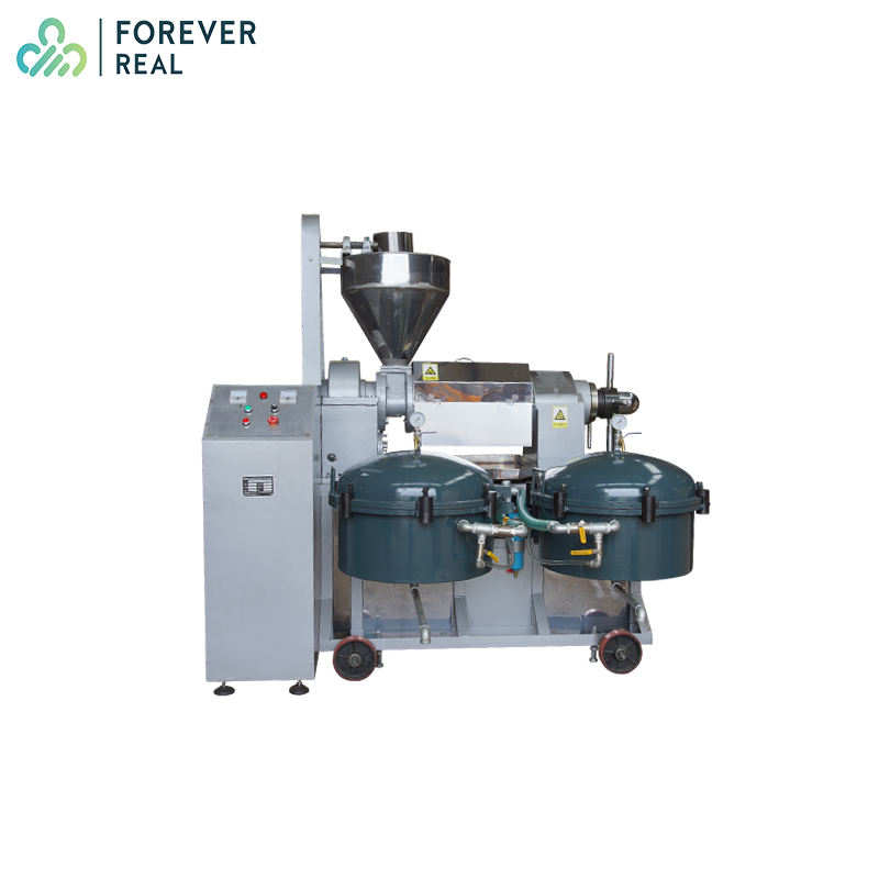 FOREVERREAL air pressure filter 150-500KG/H Palm kernal screw oil press model 6YL-165