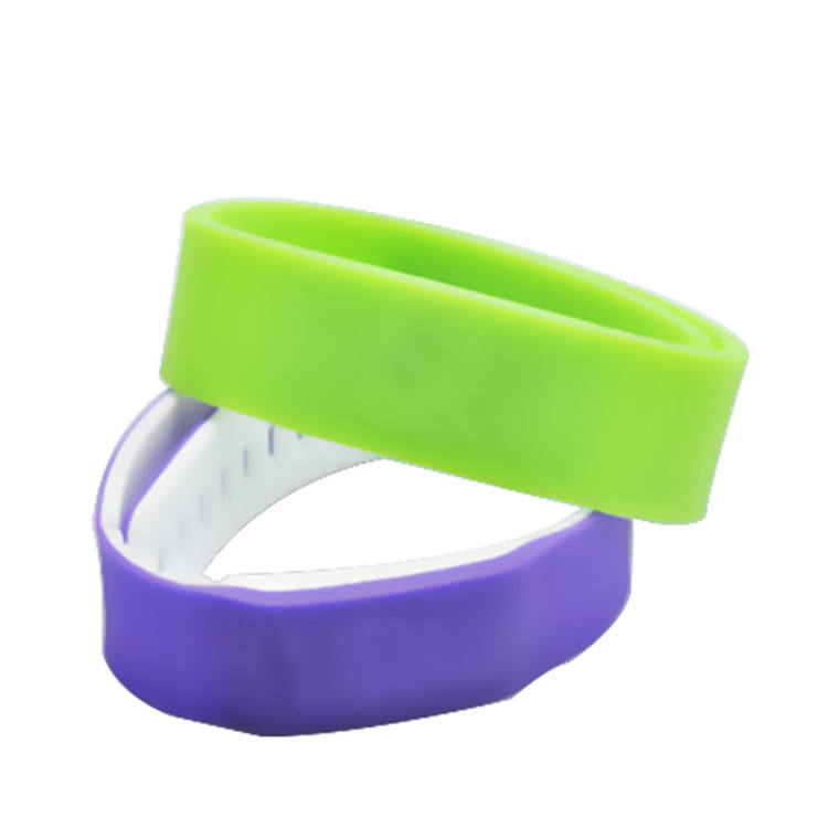 <span class=keywords><strong>Passieve</strong></span> Rfid Siliconen Armband N-tag215 Nfc Tag 504Bytes Waterdichte Smart Rfid Band