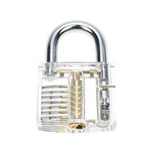 YH9117 Transparent Cutaway Padlocks Training Trainer with key for Beginner