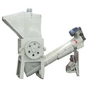 Automatic pet plastic scrap film crusher machine pe shredder