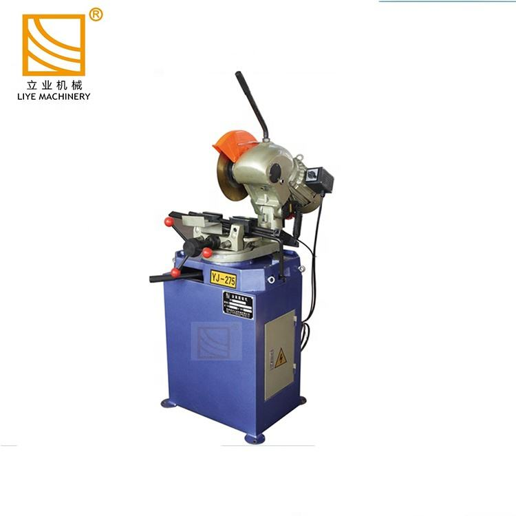 YJ-275S Pipe profile manual circular aluminium saw cutting machines