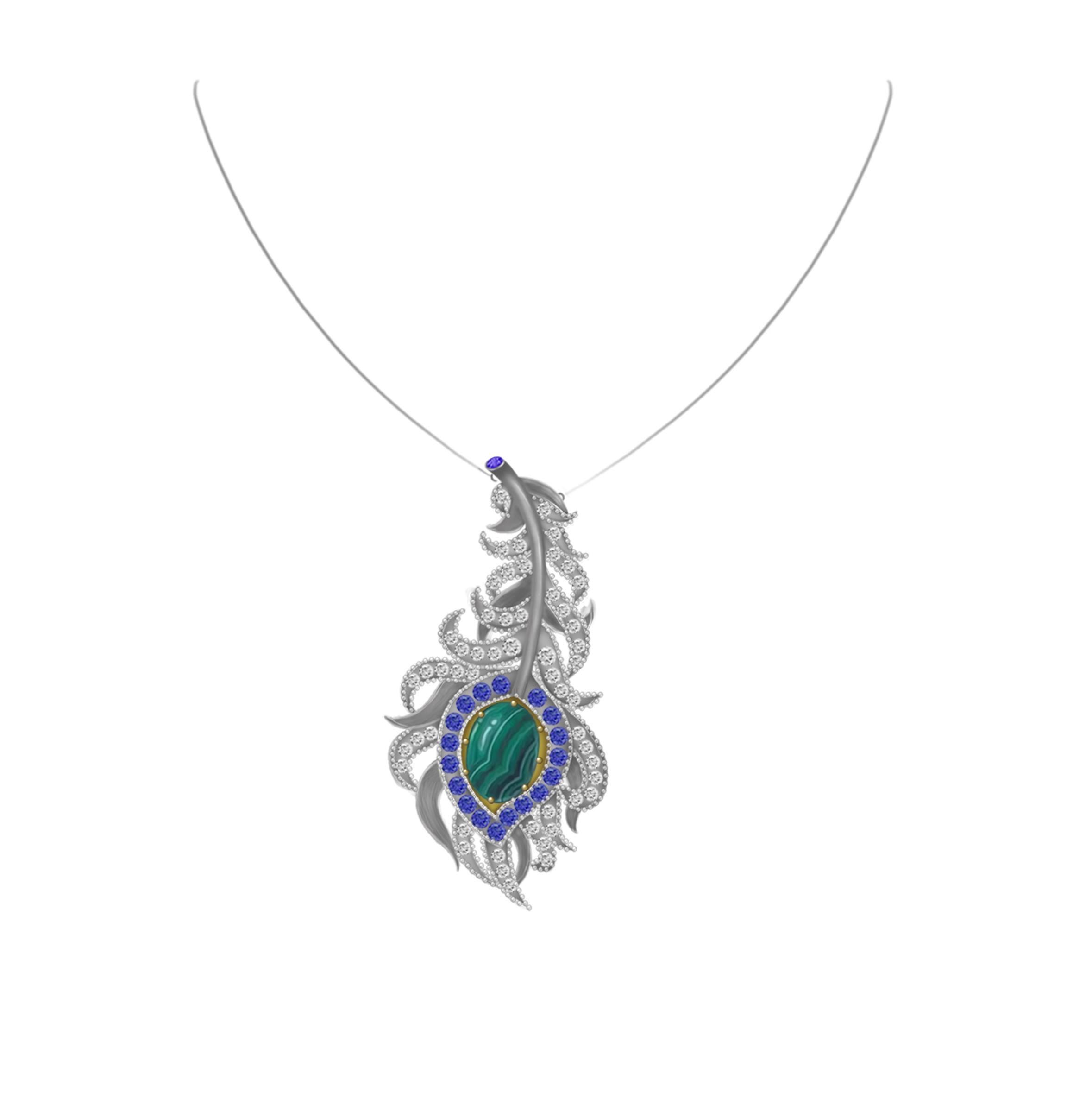 Gemstone Jewelry Jasper Gemstone Necklace Jasper Gemstones Pendant Jasper Gemstone and Silver Finished Brass Tree Of Life Pendant