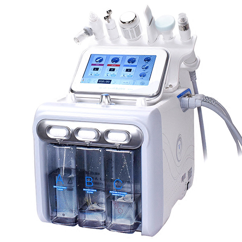 H2O2 Bubble Machine Diamond Dermabrasion Facial Peeling Hydra Microdermabrasion Machine for Spa