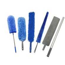 95''Long Extending Telescopic Pole Handle Clean Washable Microfiber Fluffy Duster