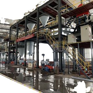 Silica and glass sand making machine wet type production line in Asia