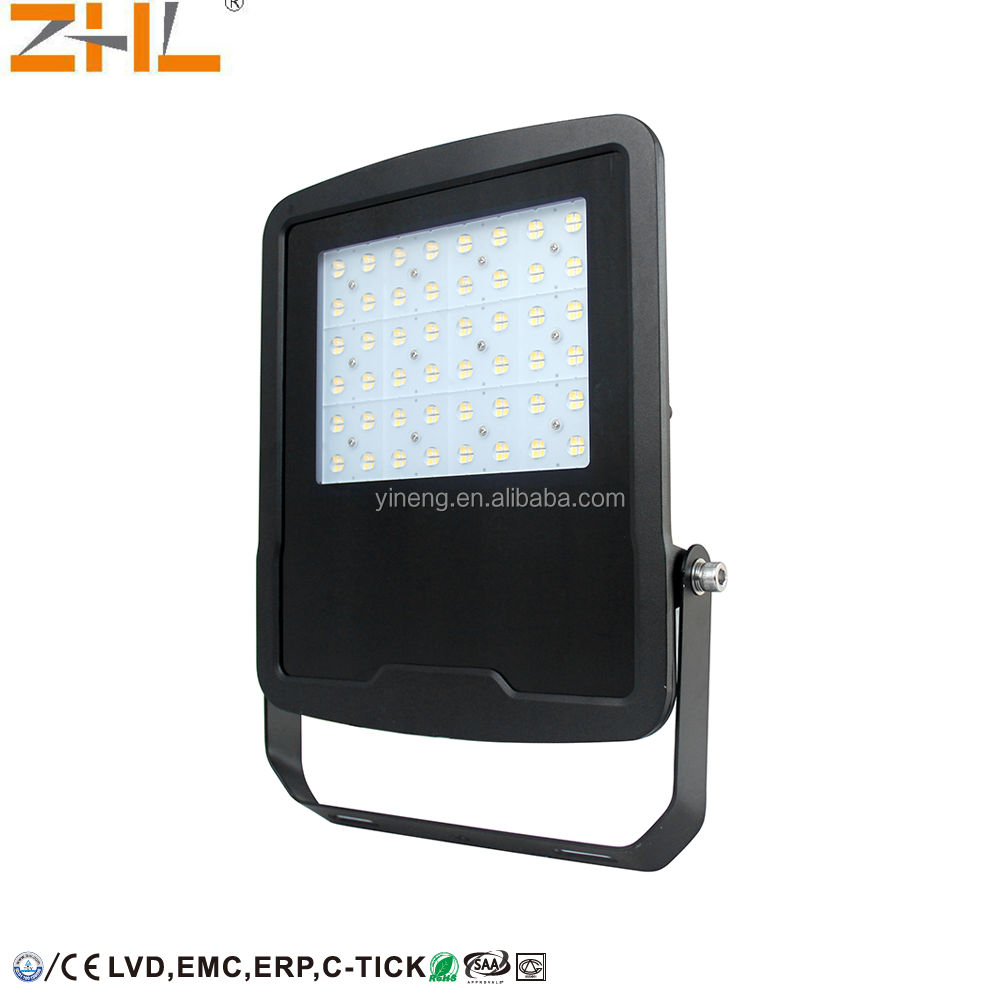 ZHL led flood light spring 10W 30W 50W 100W 150W 200W 300W 400W 500W 600W 800W asymmetric for advertising & outdoor lighting
