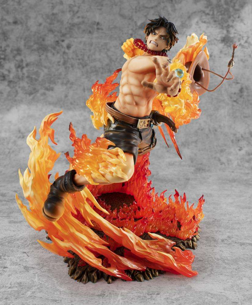 One Piece fire fist ace action figure hot sells