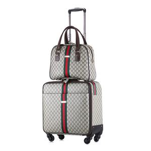 2019 new arrival 5 piece trolley siutcase luggage set 4-wheel travel bag