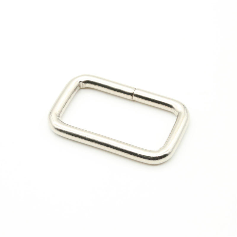 Buckle [ Metal Buckle ] MPS Source Factory 304 Stainless Steel Square Ring Metal Semicircle Buckle Bag Buckle