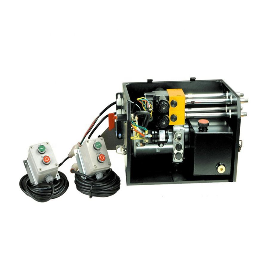 High Quality Double Acting Hydraulic Power Pack Unit for Wing Van