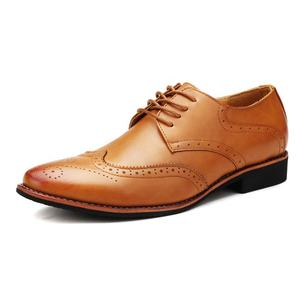 Wedding dress casual shoes rubber outsole office genuine pure Italian leather formal shoes men