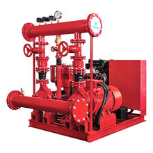 Fire Pump System Electric Diesel Jockey Pump from Purity Fire Fighting Pump Set Price