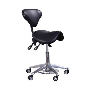 Multi function dental medical ergonomic saddle seat stool for dentist chair