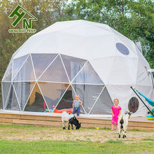 Prefabricated Dome Houses / Camping Hotel Geodesic Dome Tent Permanent House Living
