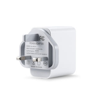 Quick Charge 3.0 Usb Wall Charger Dual Port PD 5V2. 4A 9A 2A 12V 1.5A UK Charger Dinding
