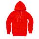 Custom Custom Street Style 100% Polyester Men's Hoodies Jumper Orange 5 Pocket Hoodies For Jumper