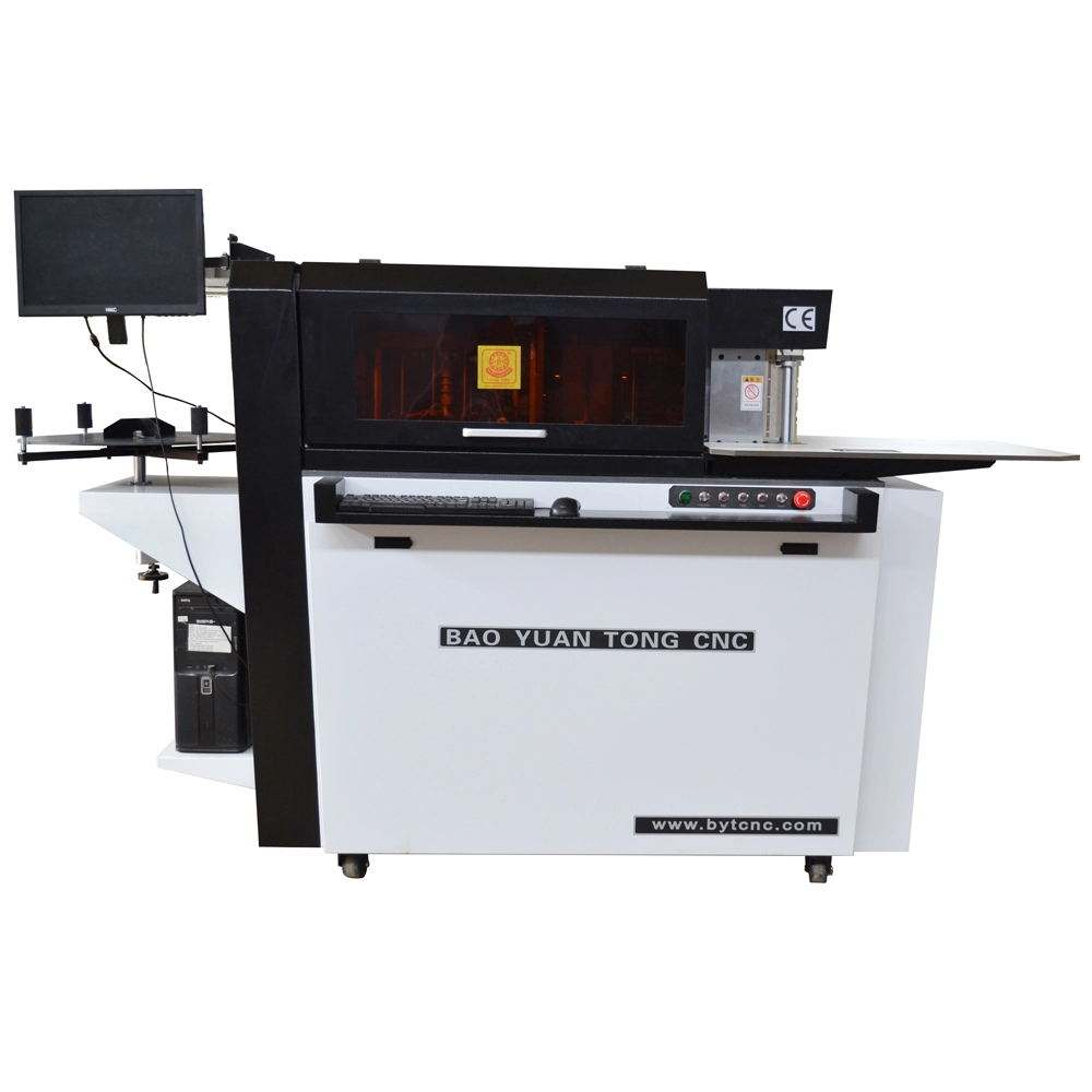 Advertising widely used automatic 3d channel letter bender / letter bending machine