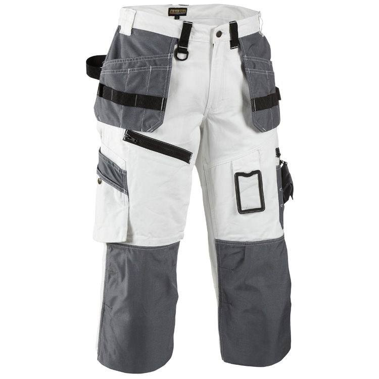 Customized logo Knee pad pockets painter trousers