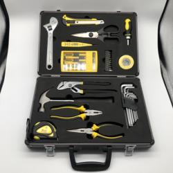 37pcs aluminium case hand tools set
