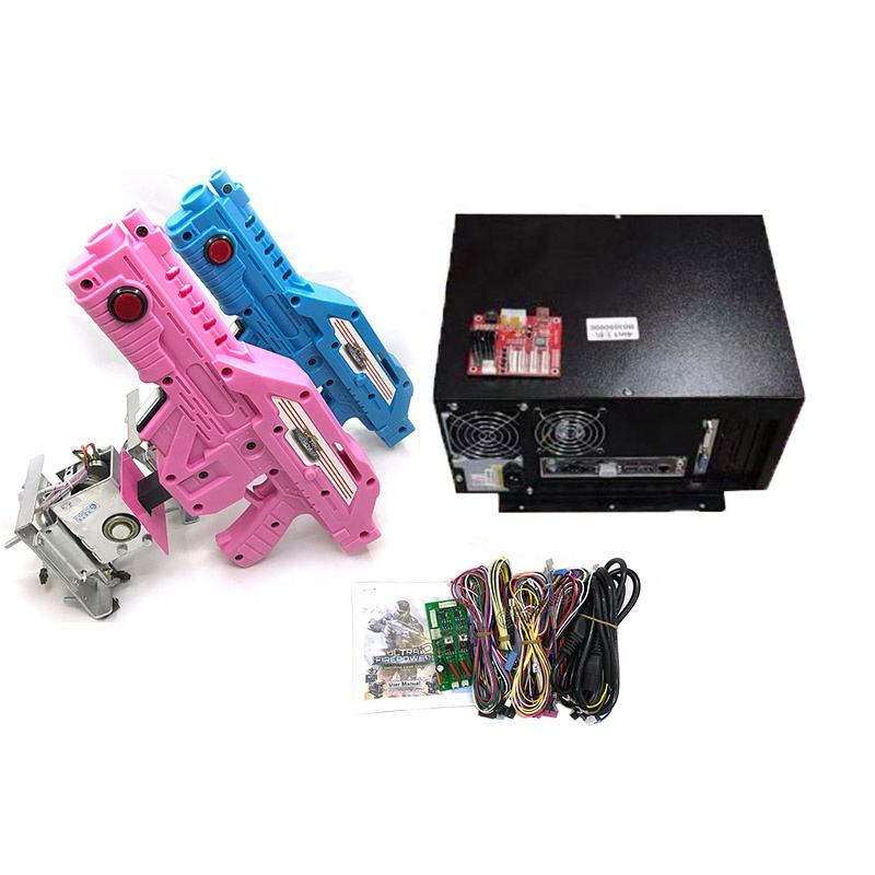 Ghost squad fire guns simuleren diy aliens 4 in 1 shooting game pcb arcade gun kit