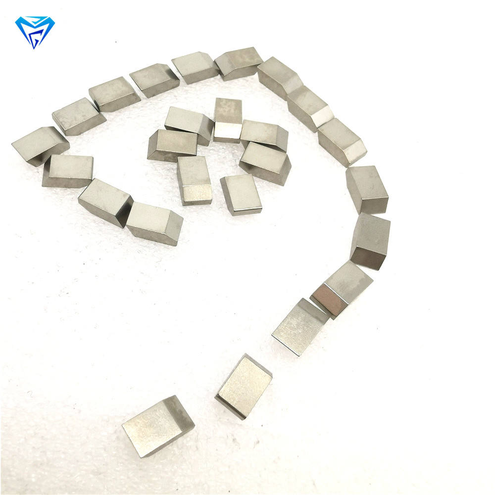 YG8 Tungsten Cemented Carbide TC Brazed Saw Tips