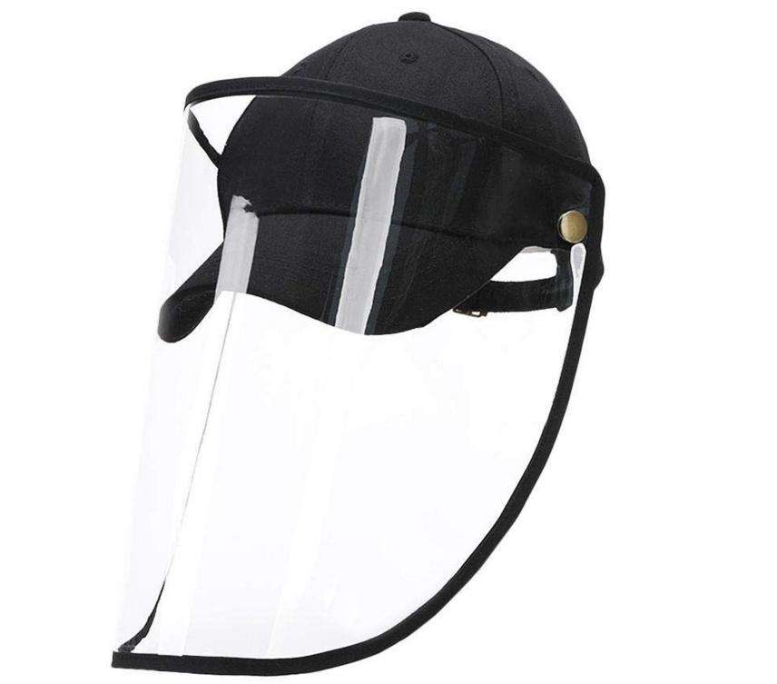 2020 Protective Hat All-Round Protective Anti-Virus Dust Cap Prevents Saliva from Splashing Outdoor Baseball Cap Sports