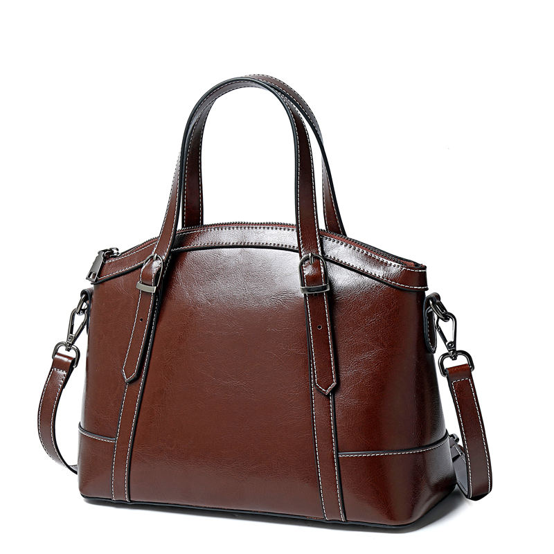 new women's bag genuine leather bag ladies major fashion handbags in europe and america