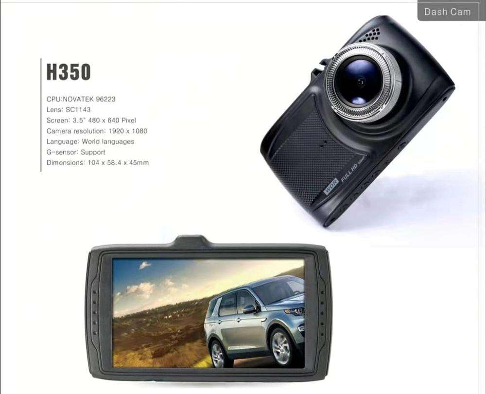 800 Stock Car Black Box 1080P Dash Cam 3.5 Inch IPS Recorder Car Video