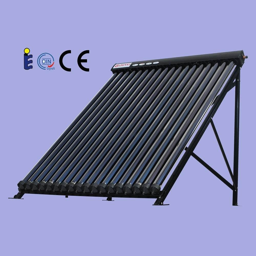 Jinyi New Split All Glass Copper Heat Pipe Evacuated Tube Solar Collector