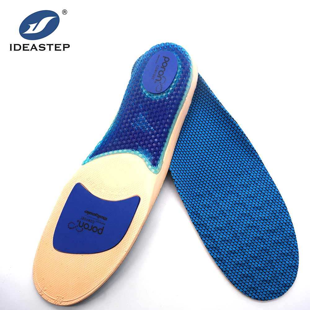 Ideastep OEM brand foot care cushion Gel padding tpu foot arch support sport poron insoles running
