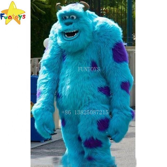 Funtoys CE Monster Sully Mascot Costume Halloween Christmas Birthday Props Outfit For Adult