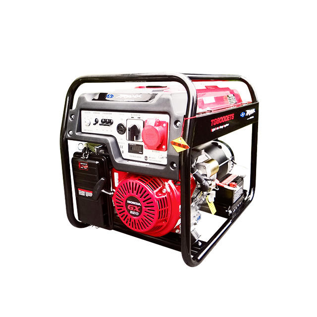 TG8000ETS China 6kw Electric Start Honda GX390 Engine Gasoline Generators