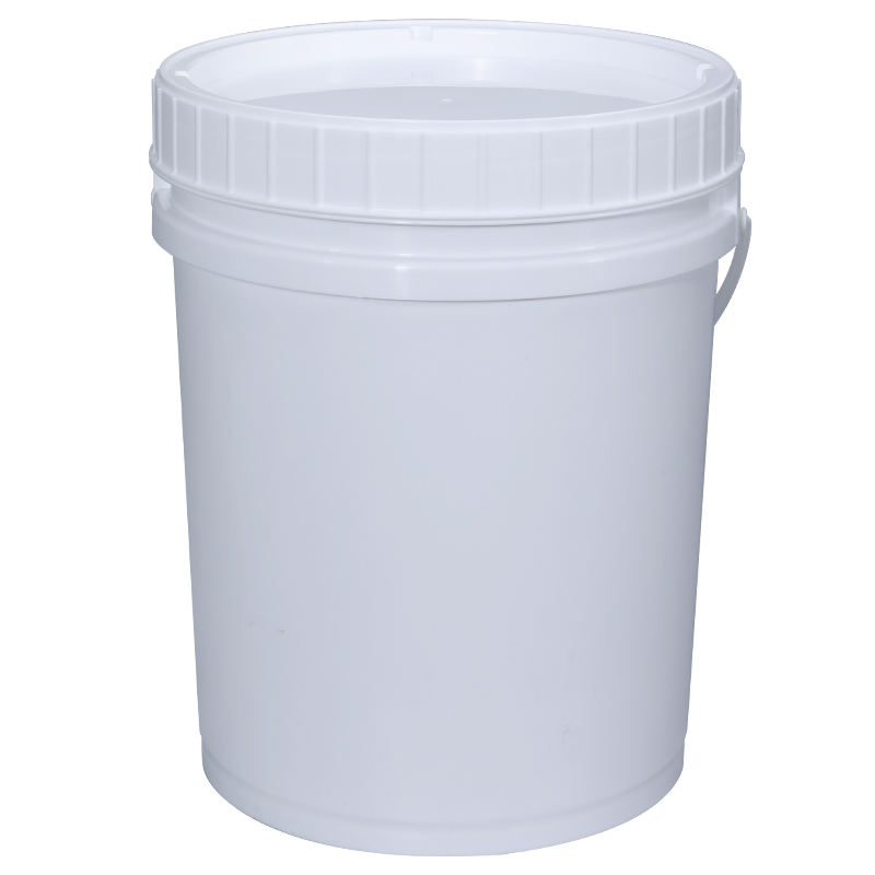 20L Plastic Bucket With Hand Screw Lid For Packaging