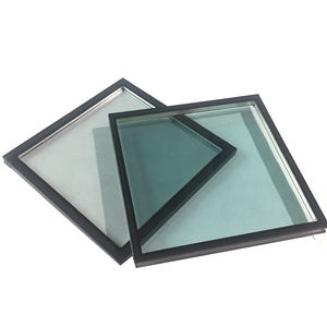 Insulated patio/building glass 5+9A+5 clear tempered glass roof panels prices