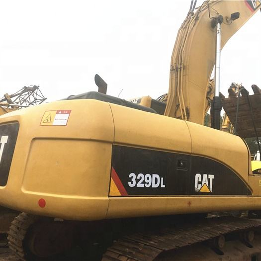 USED EXCAVATORS CAT 329D EXCELLENT CRAWLER EXCAVATOR 329 GOOD DIGGER 30 tons FOR SALE