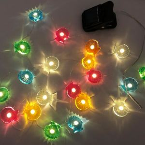Fabriek Direct Verkoop Kleurrijke Outdoor Solar Led String Lights Voor Decoratie