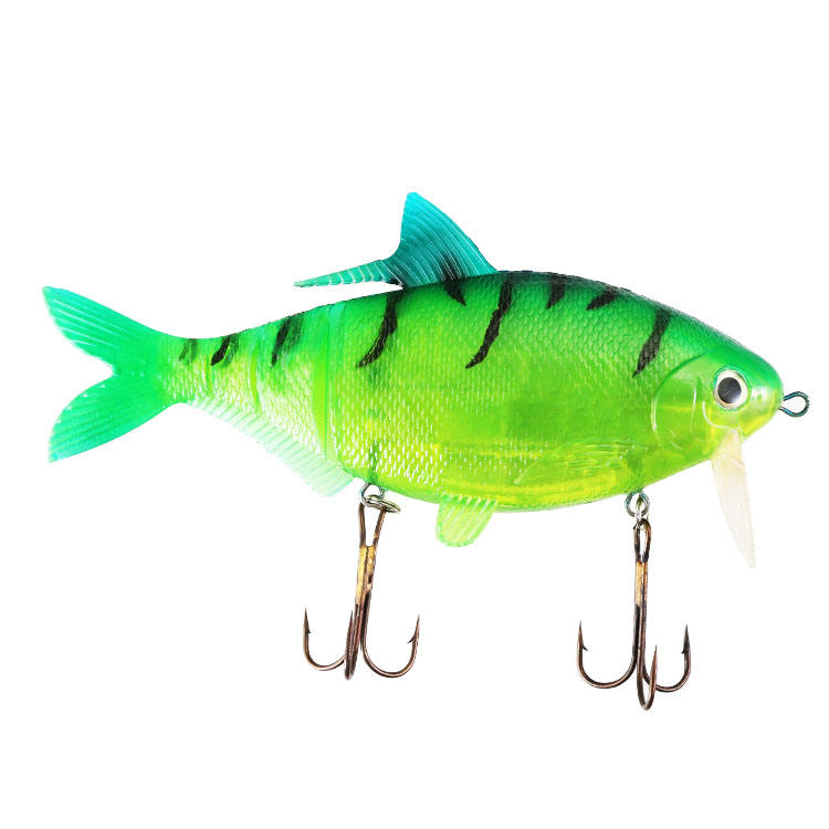 25cm 250g PVC 3D eyes treble hook big artificial Baits soft fishing lures